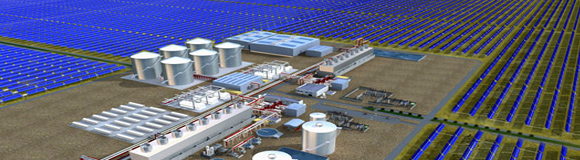 large solar World's Largest Solar Power Plant Coming to Arizona in 2011