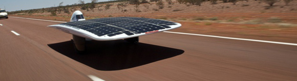 solar car Aussie Solar Car Aims For World Record